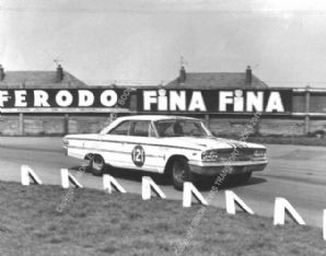 FORD GALAXIE Jack Sears, Wilment car. Aintree 1964